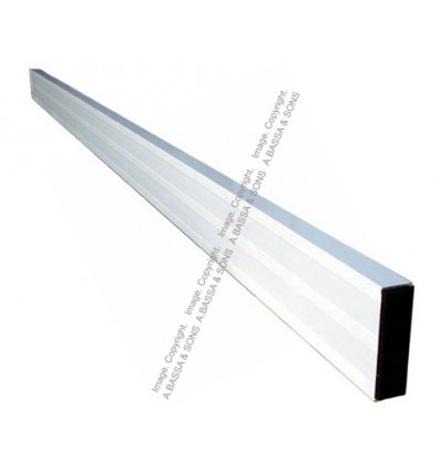 STRAIGHT EDGE ALUMINUM 1 MT