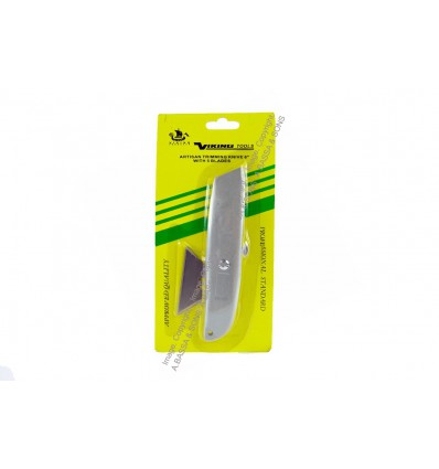 VIKING UTILITY KNIVE 125MM WITH BLADE ON A CARD