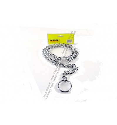CHOKE CHAINS DOG 3MM X 650MM