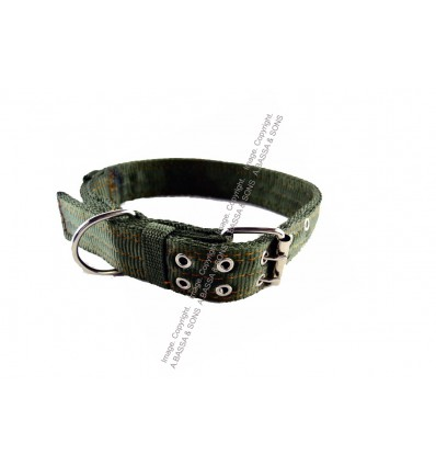 DOG COLLARS CANVAS 4 LAYER 4CMX70CM