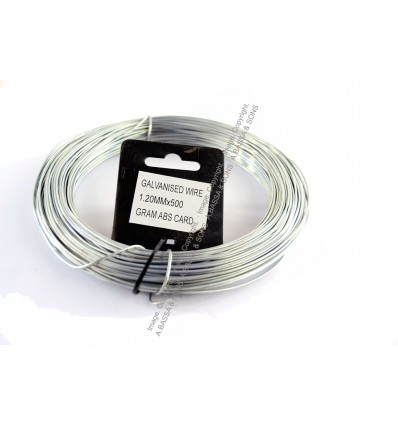 GALVANIZED  WIRE 1.2MM X 500 GRAM 50MT