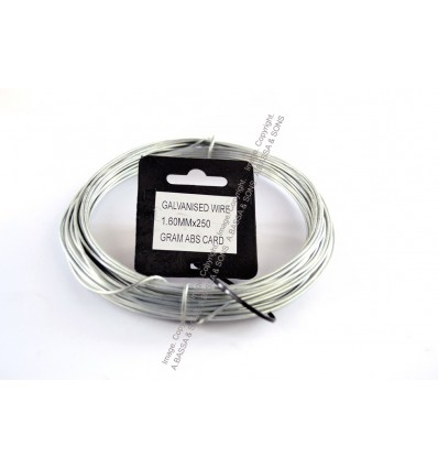 GALVANIZED WIRE 1.6MM X 250 GRAM