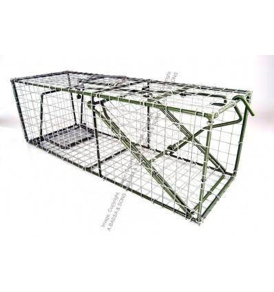 RAT CAGE GALVERNISED. 600MMX200MMX200MM