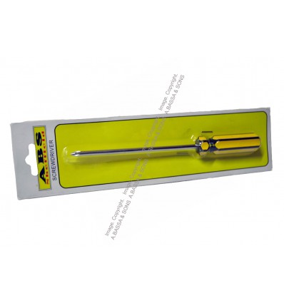 SCREWDRIVERS PLASTIC HANDLE STAR 100MM