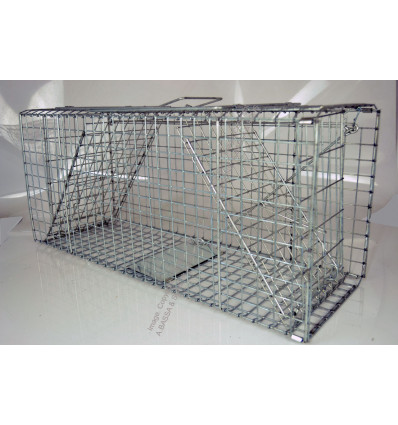 ANIMAL TRAP FOLDABLE 2 DOOR 66X23.5X30CM CH628-2