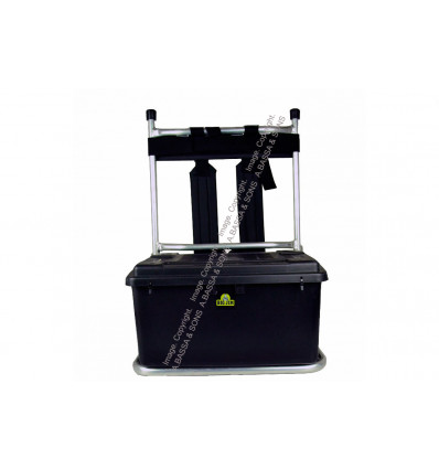 FISHING H FRAME BACK PACK WITH BLACK BOX