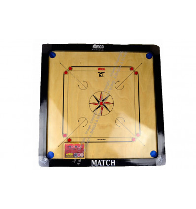 CARROM BOARD PROFFESIONAL 75CM WITH BEADS & STRIKER