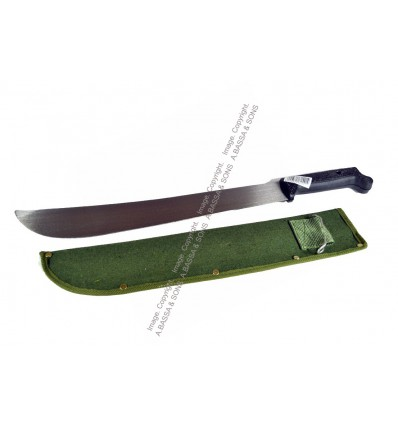 MACHETE 400MM PLASTIC HANDLE WITH SHEATH M205