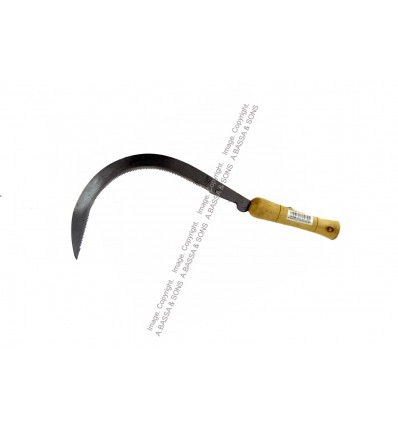 SICKLES WOODEN HANDLE 300MM